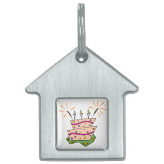 Birthday Cake Clipart Pet Tags