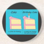 Birthday Cake Coaster
