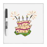 Birthday Cake Dry Erase Board