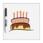 Birthday Cake Dry-Erase Whiteboard
