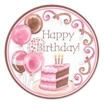 Birthday Cake Envelope Seal