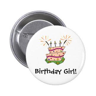 Birthday Cake Fun Button