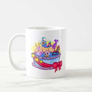 Birthday Cake Group Shot Coffee Mug