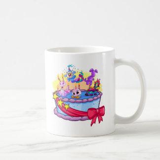 Birthday Cake Group Shot Coffee Mugs