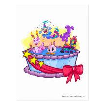 Birthday Cake Shot on Birthday Cake Group Shot Postcards