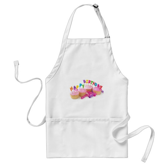 Birthday-cake-happy.jpg Adult Apron