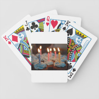 birthday cake House Party sweets dessert food bake Bicycle Playing Cards