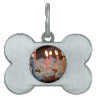 birthday cake House Party sweets dessert food bake Pet Tag