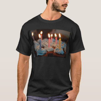 birthday cake House Party sweets dessert food bake T-Shirt