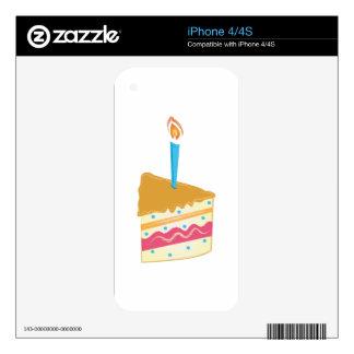 Birthday Cake iPhone 4S Skin
