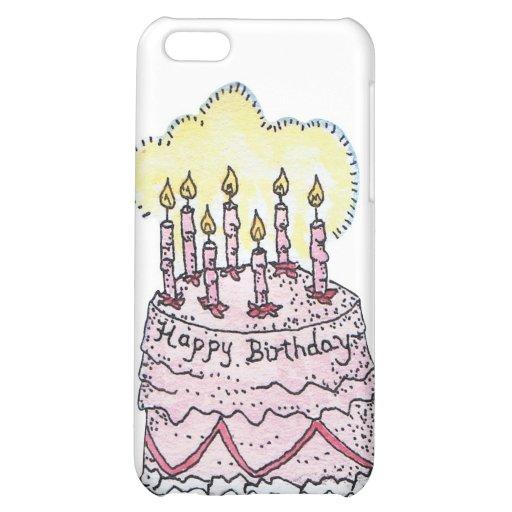 Birthday Cake iPhone Case iPhone 5C Cases