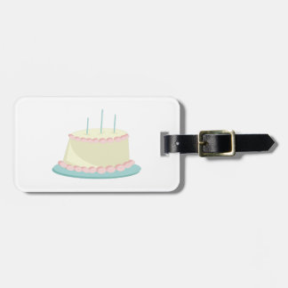 Birthday Cake Tag For Luggage