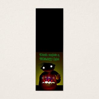 Birthday Cake Mini Business Card