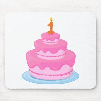 birthday cake mouse pad