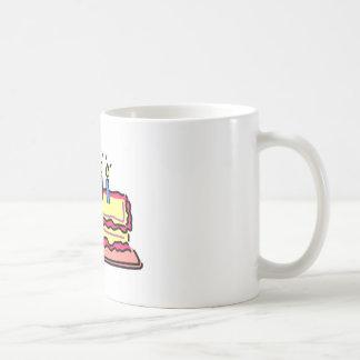 Birthday Cake Classic White Coffee Mug