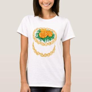 Birthday Cake Orange T-Shirt