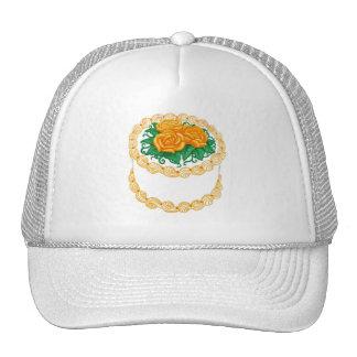Birthday Cake Orange Trucker Hat