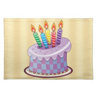 Birthday Cake Placemat
