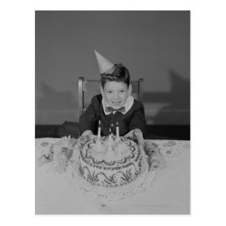 Birthday Cake Postcards