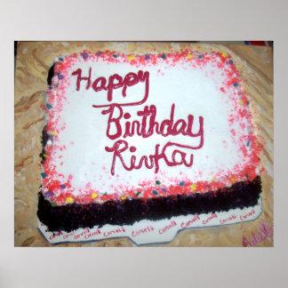 """Birthday Cake"" Poster"