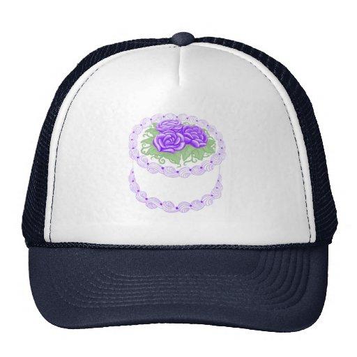 Birthday Cake Purple Trucker Hat