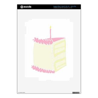 Birthday Cake Decals For iPad 3