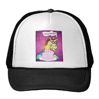 Birthday Cake Unicorn Trucker Hat