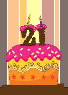 21 Candles 21st Birthday Cards