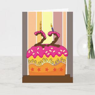 22nd Designed Birthday Cards