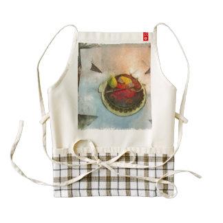 Birthday cake zazzle HEART apron