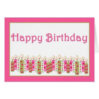 Birthday Candles Birthday Card