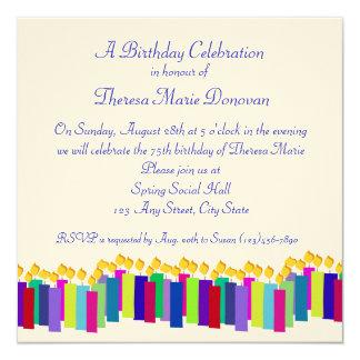 Birthday Candles Card