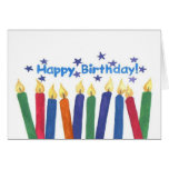 Birthday Candles Cards