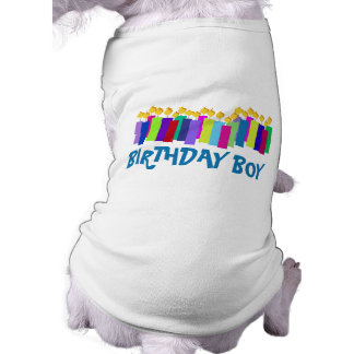 Birthday Candles Doggie T Shirt