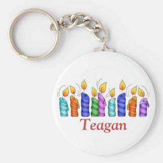 Birthday Candles Keychain