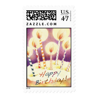 Birthday Candles Postage