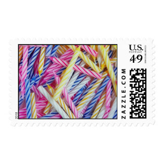Birthday Candles Postage Stamp