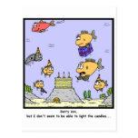 Birthday Candles Postcards