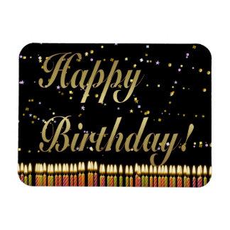 Birthday Candles Premium Magnet