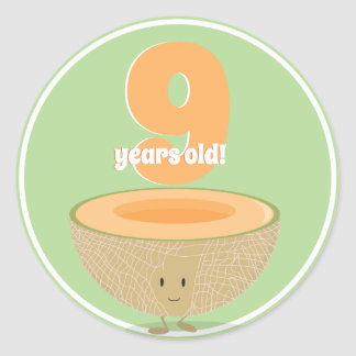 Birthday Cantaloupe | Sticker
