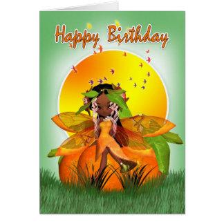 Birthday Card - African American