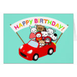 Birthday card - All Character
