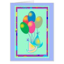 """BIRTHDAY CARD BALLOONS  Big (18"""" x 24"""")"""