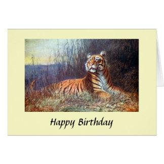 Birthday Card - Bengal Tiger