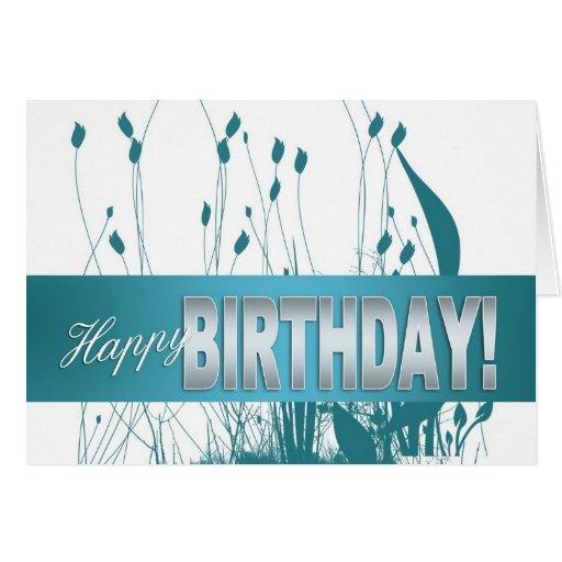Birthday Card - Business Birthday Card