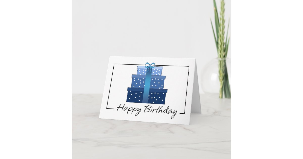 Birthday Card - Business Birthday Card | Zazzle.com