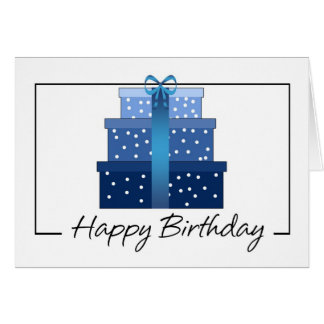 Birthday Card - Business Birthday Card