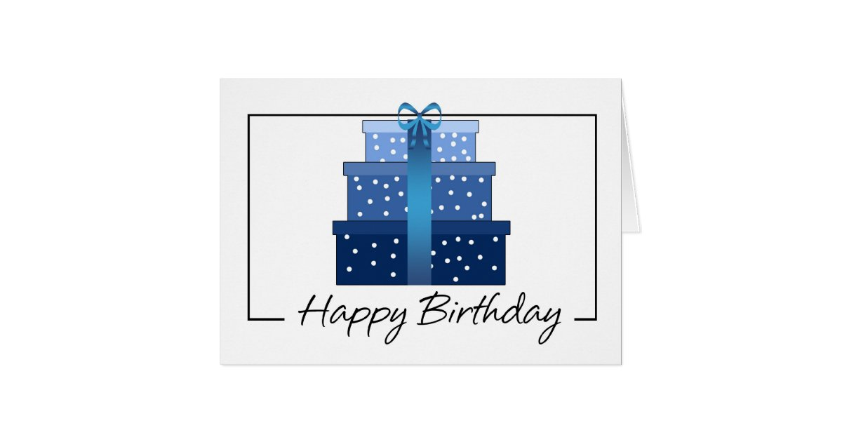 Birthday Card - Business Birthday Card | Zazzle.com