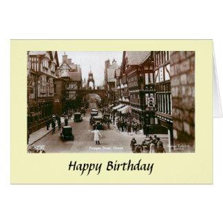 Birthday Card - Chester, Cheshire, England