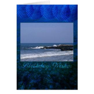 Birthday Card Coastal View Whitley Bay Tyne